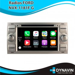 RADIO FORD RECTANGULAR GRIS