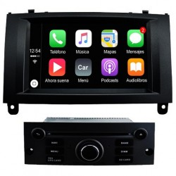 Radio 2din Android GPS Octacore 4GB RAM, 64GB ROM INAND FLASH. Android car dvd Peugeot 407 2004, 2005, 2006, 2009