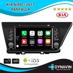 Pantalla KIA NIRO +2017 Radio con Android BASIC