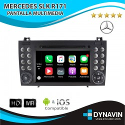 MERCEDES SLK R171 - ANDROID