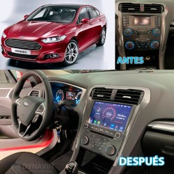 FORD MONDEO MK5, FORD FUSION (+2013) - MIONAV II