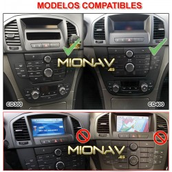 OPEL INSIGNIA (2008-2014) - ANDROID