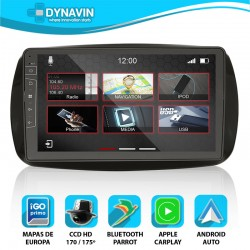 SMART FOR TWO, FOR FOUR C453 (+2016) - DYNAVIN N7X PRO