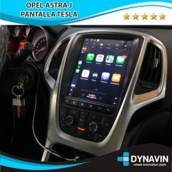 TESLA con CarPlay Opel Astra J