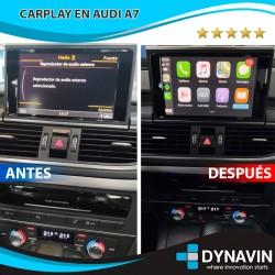 AUDI A6 C7/4G, AUDI A7 C7/4G (RMC) - CAR PLAY, CAMARA TRASERA
