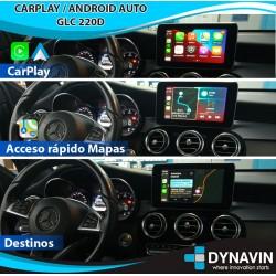 MERCEDES NTG5.0/5.1 CAR PLAY, CAMARA TRASERA, CAMARA DELANTERA