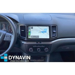 2din OEM CarPlay, Android Auto, GPS, VW Sharan, Seat Alhambra mib std2 pq+/nav  ref. 7n5 036 680f 2010, 2011, 2012