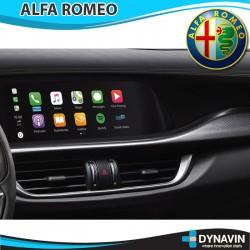 ALFA ROMEO GIULIA, STELVIO CAR PLAY, CAMARA TRASERA, CAMARA DELANTERA