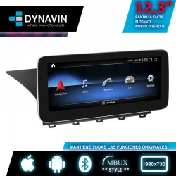 Radio 2din android car play, android auto Mercdes Command Online GLK NTG4.0 X204 2009, 2011, 2012, 2014, 2015