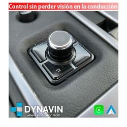 "APPLE CAR PLAY UNIVERSAL. CONEXION RCA CONTROL JOYSTICK ""IDRIVE"""