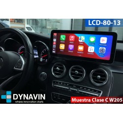 """MERCEDES CLASE C W204 (+06/2011) - ANDROID 12,30"""""""