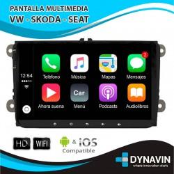 "VOLKSWAGEN / SEAT / SKODA LCD 9"" - Pantalla ANDROID"