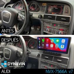 """AUDI A6 4F, AUDI Q7 4L (MMI 2G) - ANDROID 10,25"""""""