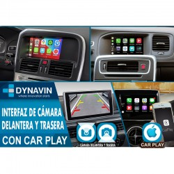 "VOLVO SENSUS SYTEM 7"" (+2014) CAR PLAY, CAMARA TRASERA, CAMARA DELANTERA"