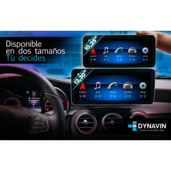 """MERCEDES CLASE C W204 (+06/2011) - ANDROID 10,25"""""""