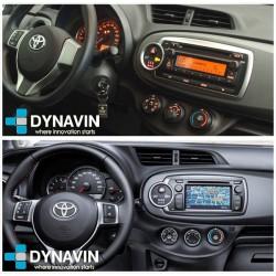 Dynavin N7X PRO 2din OEM CarPlay, Android Auto, GPS, cámara Toyota Yaris xp130 y xp150 2010, 2011, 2012, 2013, 2014, 2015