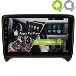 Radio 2din Android GPS Octacore 64GB FLASH. Android car dvd gps Audi TT del 2006, 2007, 2008, 2009, 2010