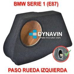 BMW E87 - CAJA ACUSTICA PARA SUBWOOFER ESPECÍFICA PARA HUECO EN EL MALETERO