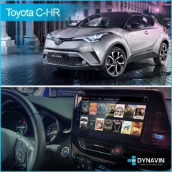 Radio gps 2din gps Car Play, Android auto, mirror linkToyota C-HR  2017, 2018, 2019 JBL amplificador Toyota