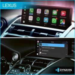 Comprar Apple CarPlay wireless, Android auto mirror link y USB Lexus ES Lexus RX Lexus CT200 Lexus NX 2016 2017 2018 2020