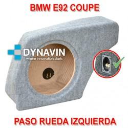 BMW E92 COUPE - CAJA ACUSTICA PARA SUBWOOFER ESPECÍFICA PARA HUECO EN EL MALETERO
