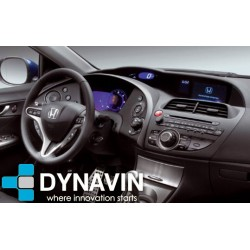 Soporte y marco fascia 2din 9DIN, 10DIN para pantalla android car play Honda Civic MK8 2006 2007 2008 2006 2010 2011