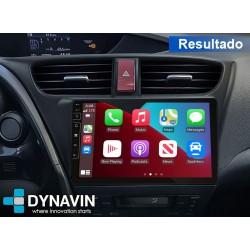 Dynavin N7 Honda Civic Pro 2din OEM CarPlay, Android Auto, GPS, cámara 360 Honda Civic MK9 2012 214 2015 2016 2017 2018