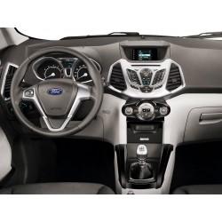 Soporte de montaje 2din. Instalar radio gps en Ford Ecosport JA 2013 2014 2015 2016 2017