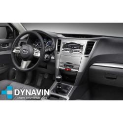 Soporte y marco fascia 2din 9DIN, 10DIN para pantalla android car play Subaru Outback 2009 2010 2011 2012 2013 2014 2015