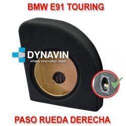 BMW E91 TOURING - CAJA ACUSTICA PARA SUBWOOFER ESPECÍFICA PARA HUECO EN EL MALETERO