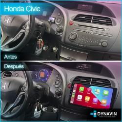 Radio 2din Android GPS Octacore 64GB FLASH. CarPlay Android Auto Honda Civic MK8 2006 2007 2008 2006 2010 2011