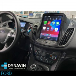 Radio gps wifi 2din Android Tesla Android Apple Car Play mirror link Ford Kuga 2012, 2014, 2015, 2016 Ford C-Max