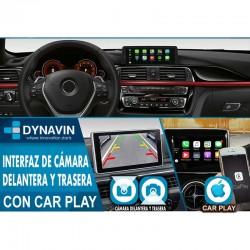 Interface car play cámara trasera y sensor de parking original PDC para BMW EVO ID5 ID6 2017, 2018, 2019