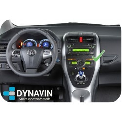 Radio 2din Android GPS Octacore 4GB RAM, 64GB ROM Android car dvd Toyota Auris E150 2006, 2008, 2009, 2010, 2011