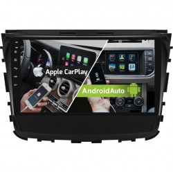 Radio 2din Android GPS Octacore 64GB FLASH. CarPlay Android Auto Ssang Yong Rexton 2018 2019 2020 2021