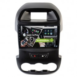 Pantalla Android GPS Octacore 64GB FLASH. CarPlay Android Auto Ford Ranger T6 2011, 2012, 2013, 2014, 2015