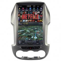 Pantalla multimedia Dynavin-MegAndroid Android Auto CarPlay para Ford Ranger T6 2011, 2012, 2013, 2014, 2015