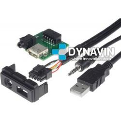 CONECTOR USB Y AUXILIAR - INTERFACE PARA MAZDA