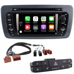 Radio 2din Android GPS Octacore 4GB RAM, 32GB ROM INAND FLASH. Android Seat Ibiza 6J 2008, 2009, 2010, 2012