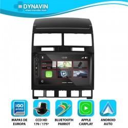 Dynavin 2din OEM CarPlay, Android Auto, GPS, VW Touareg 2002 2003 2004 2005 2006 2007 2008 2009