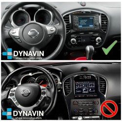 Pantalla multimedia Dynavin-MegAndroid Android Auto CarPlay para Nissan Juke F15 2010, 2012, 2014, 2017