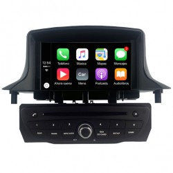 Radio pantalla Android CarPlay dvd Renault Megane 3 2010, 2011, 2012, 2013, 2014, 2015