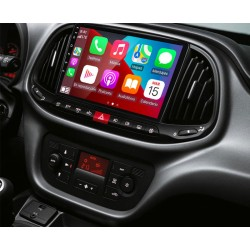 Pantalla multimedia Dynavin-MegAndroid Android Auto CarPlay para Fiat Dobló 2015 2016 2017 2018 2019