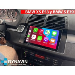 Radio 2din Android GPS Octacore 64GB FLASH. CarPlay Android Auto BMW Serie 5 E39 1996 1998 2001 2003 2005