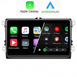 Instalar radio 2din Android en Volkswagen rcd510, rcd310, rns815 volkswagen, seat trinax, skoda columbus, golf6, seat leon