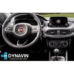 Pantalla multimedia Dynavin-MegAndroid Android Auto CarPlay para Fiat Tipo 2019 2020 2021 2022