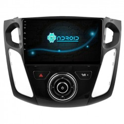 Pantalla CarPlay Android Auto GPS Octacore 128GB. Android car dvd gps Ford Focus MK3 2015, 2016, 2017 restyling