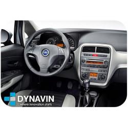 Pantalla multimedia Dynavin-MegAndroid Android Auto CarPlay para Fiat Grande Punto Evo 2005 2006 2007 2008