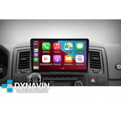 Dynavin-MegAndroid Android Auto CarPlay para Volkswagen T5 Multivan 2003 2005 2007 2009 2011 2013 2015