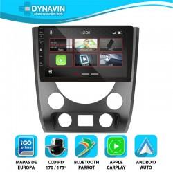 Dynavin N7X 2din integrado CarPlay, Android Auto, GPS, cámara Ssang Yong Rexton 3 2012 2013 2014 2015 2016